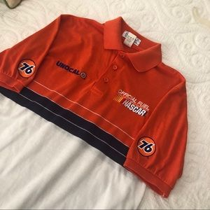 VINTAGE NASCAR UNOCAL 76 POLO SHIRT